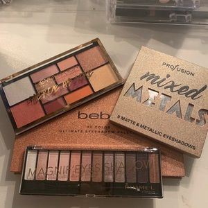 Drugstore Makeup Bundle 4 Palettes for $15!
